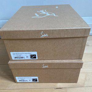 Christian Louboutin 2 paper shoe boxes EMPTY